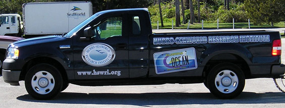Sea World Truck