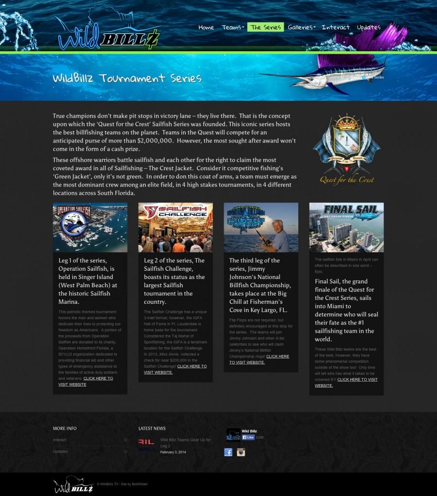 The Series - Wild Billz TV - Sailfishing Tournament TV