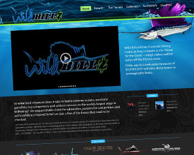 Wild Billz TV Responsive Website
