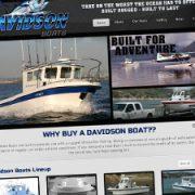 boat builder website design