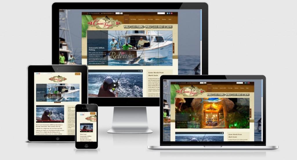 Casa Vieja Lodge Mobile Website