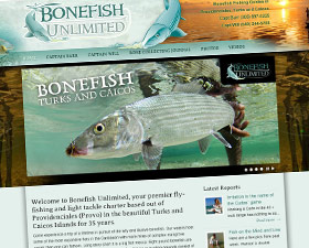 Bonefish Unlimited Logo and Website