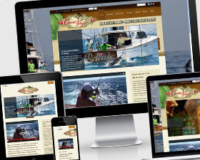Website Design for Casa Vieja Lodge