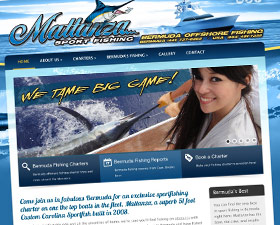 Mattanza Bermuda Fishing Charter Website