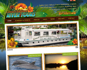 Good Natured River Tours Branding & Website