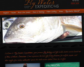 Fly Water Expeditions Charter Website