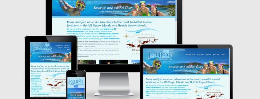 Virgin Island Snorkel Charter Responsive Website