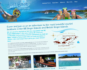 Jost Boat Virgin Islands Tour Brand & Website