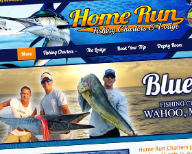 Brand, Website & Marketing Design for Fishing Charter & Lodge