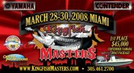 Kingfish Masters card