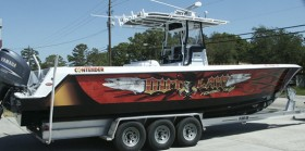 Outlaw Boat Wrap