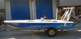 Native Sons Guide Boat Wrap
